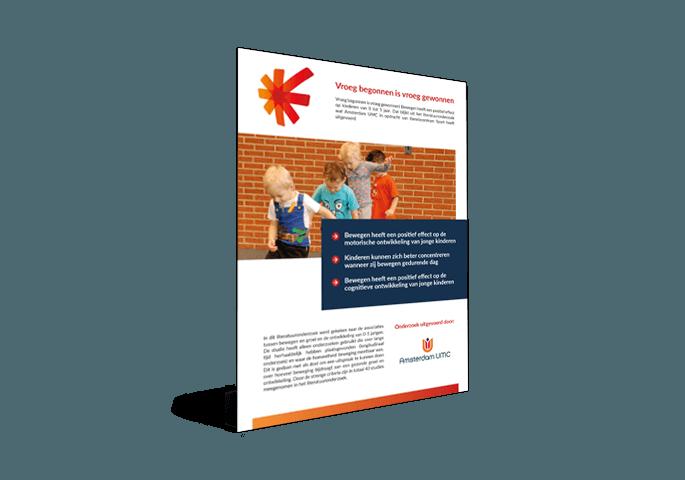 cover factsheet bewegen 0 tot 5 jaar