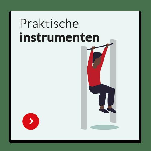 Bewust bewegen onderdeel praktische instrumenten