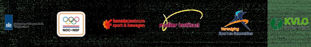 Logo's partners week van de motoriek