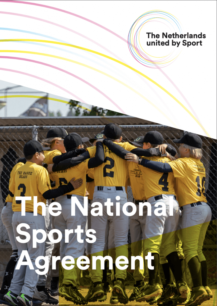 Cover image of the national sports agremeement