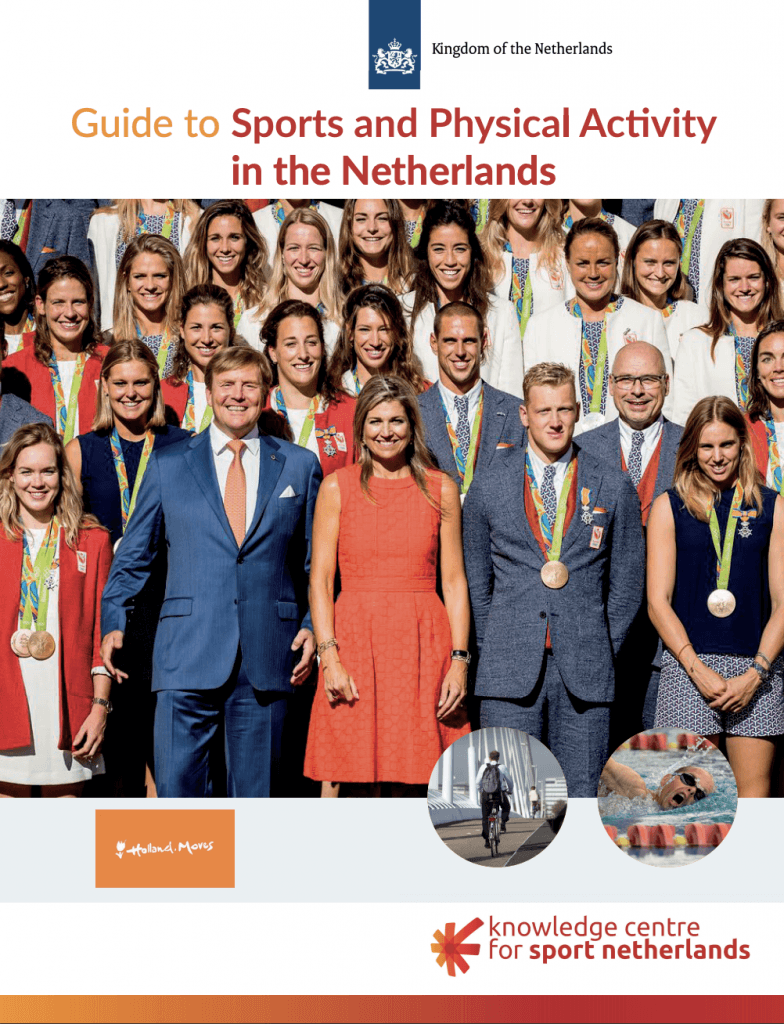 cover Guide to sports and physical activity in the Netherlands