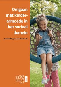 Cover van de Handreiking omgaan met kinderarmoede in het sociaal domein
