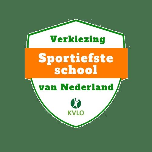 logo sportiefste school van Nederland