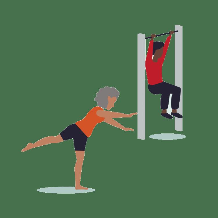 voorbeeld spier en botversterkende oefeningen